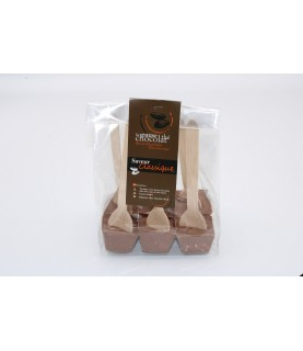 Confiture chocolat-framboise